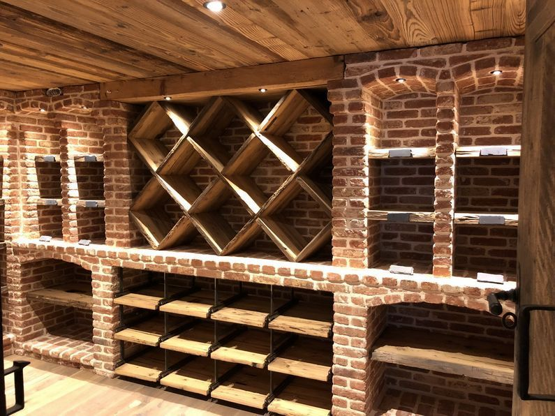 Project Gallery Of The Realized Wine Cellars In The Whole Wine