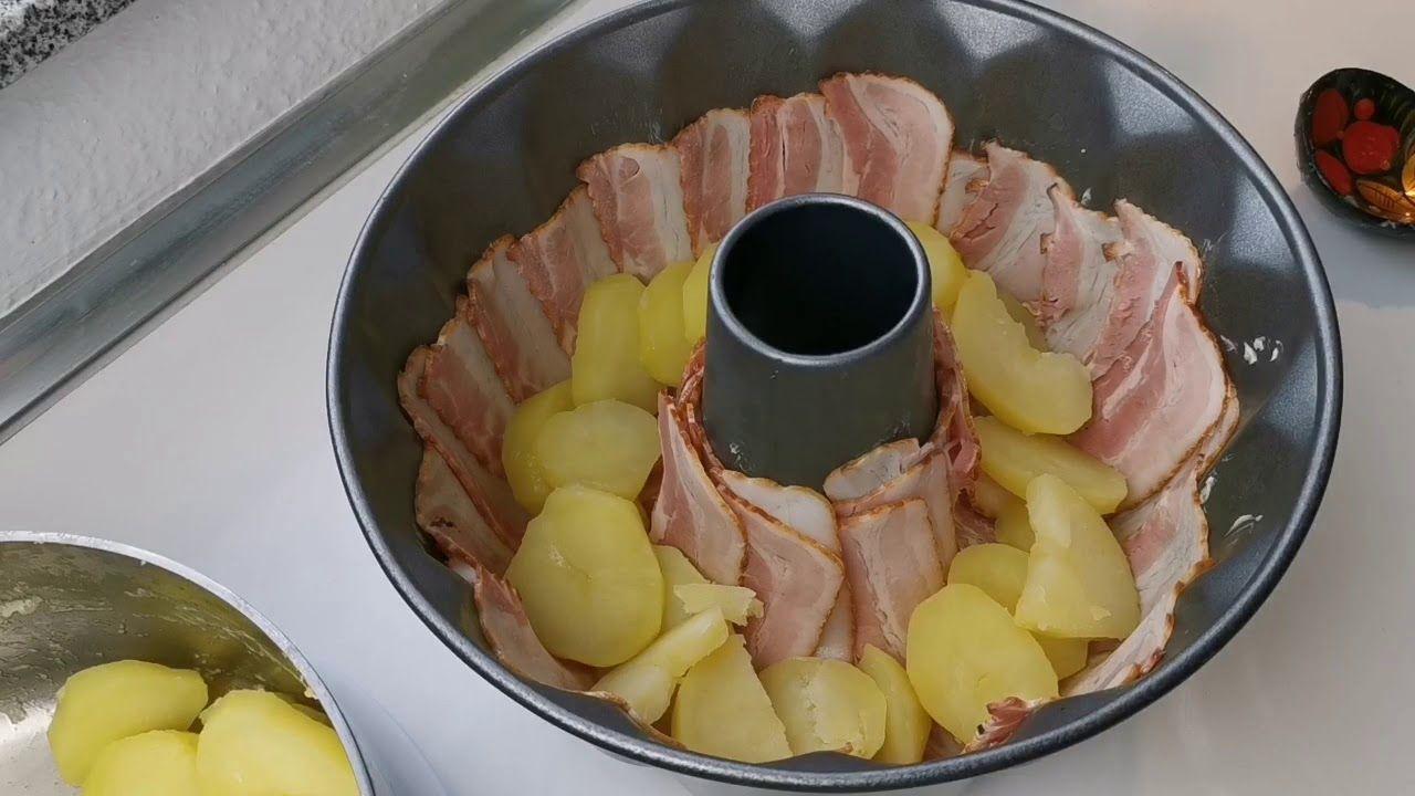 Bacon-Kartoffel-Ring, man kann nicht aufhören es zu essen �