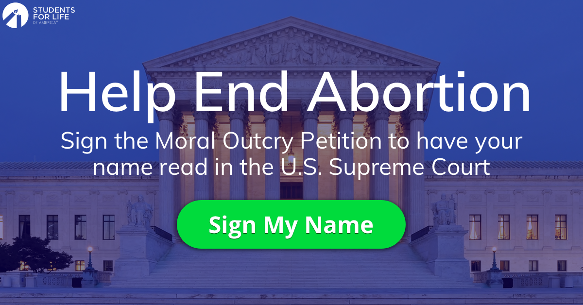 Sign Your Name Fill Out The Form Below To E Sign Your Moral Outcry Petition Your Name Will Be Read In The Supreme Cou Pro Life Life Help Supreme Court