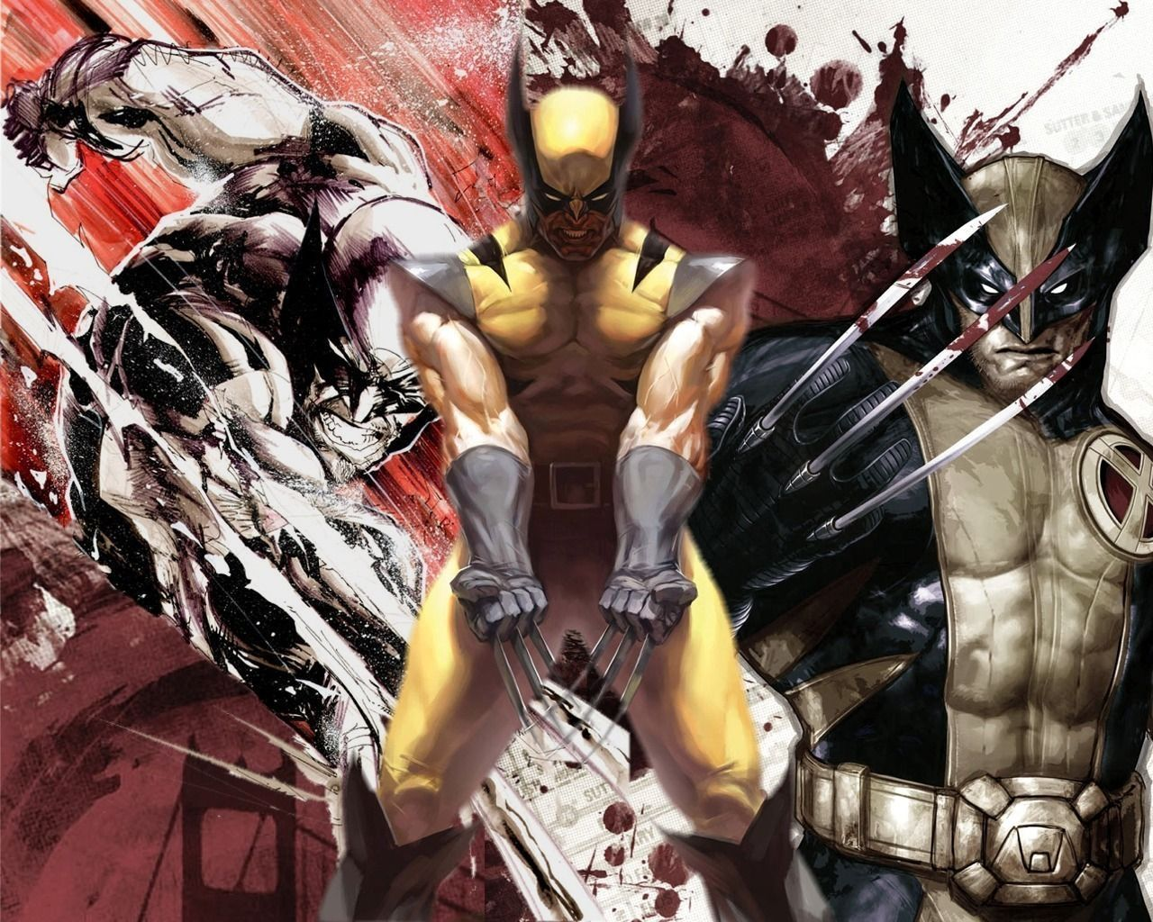 Xmen wallpapers wallpaper 19201080 x men wallpapers 52 wallpapers wolverine wallpaper multiple artist contributed to this 1280 1024 wallpaper voltagebd Images
