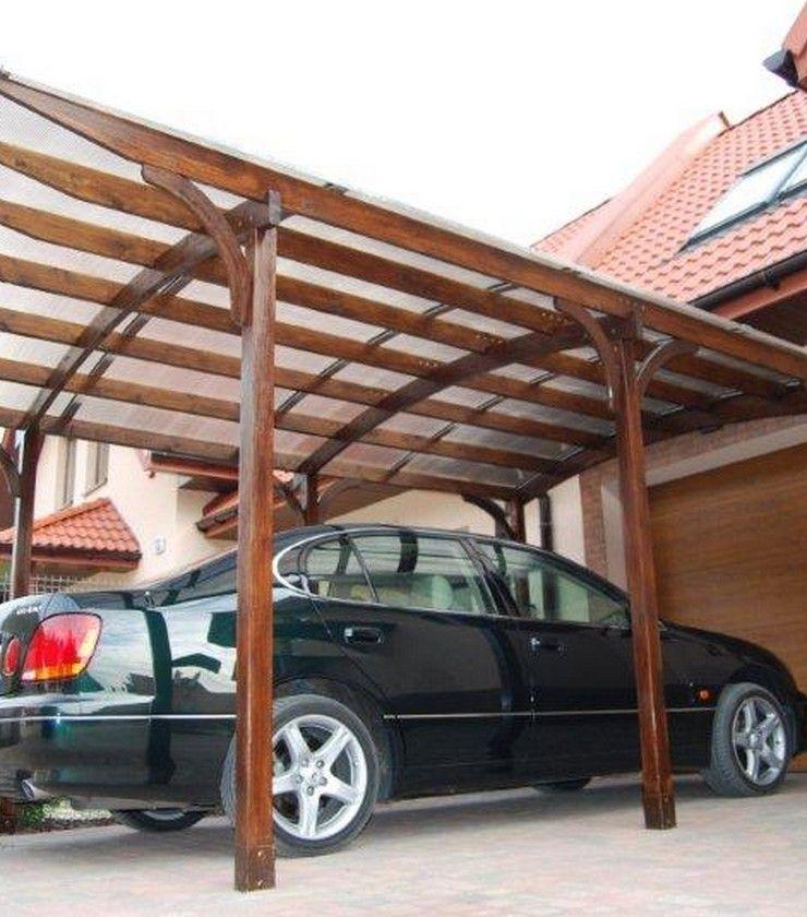 Ludlow Leanto Carport Carport designs, Wooden carports