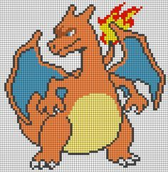Pokemon Perler Bead Pattern Pixel Art Anime Pixel Art