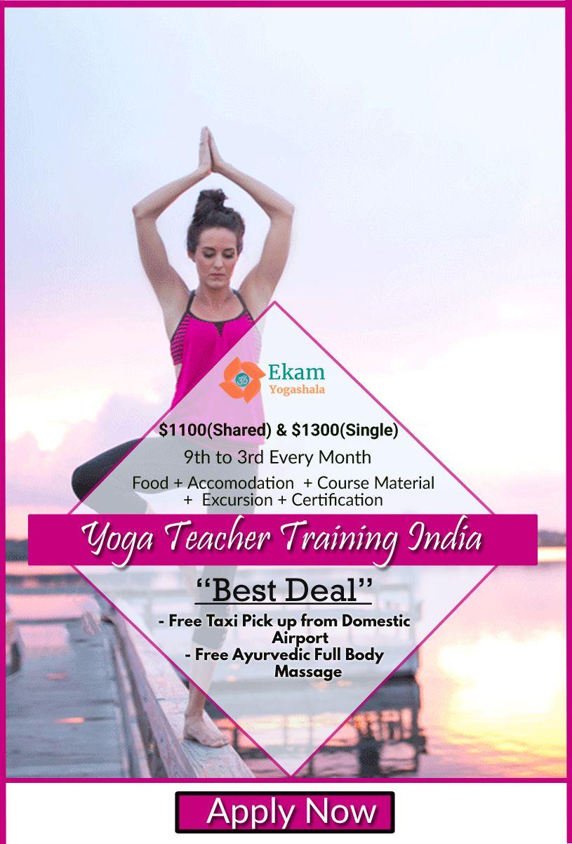 Yoga Teacher Training India @ekamyogashala  #yoga #yogateachertraining #yogaschool #yogaclass #yogacourse #hathayoga #yogastudents #ashtanga #yogini #people #yogalove #india #deal #offer #body #love