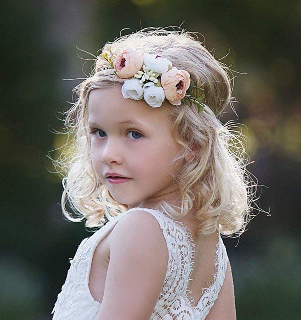 Gold Flower Headband  Rhinestone Headband  Silver Headband  Flower Girl  Pageant  Photo Prop  Infant  Baby  Girl  Toddler  Adult