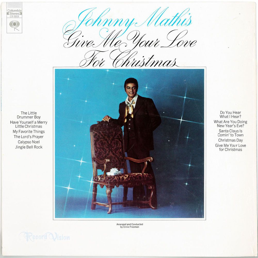 Give #Me #Your #Love #for #Christmas, by #Johnny #Mathis, differs ...