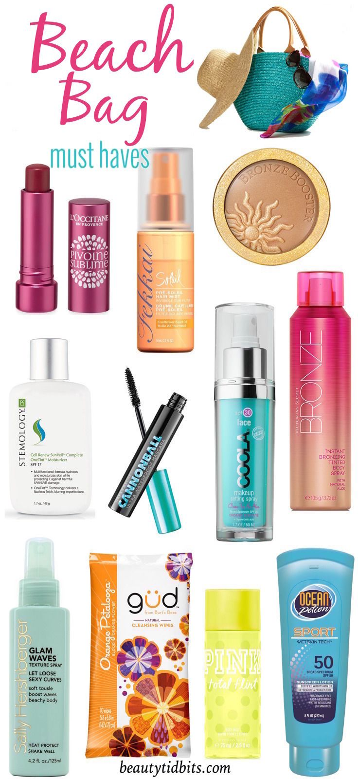 Beach Bag Beauty Essentials: 10 Must-Have Products