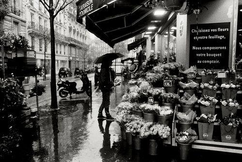Paris Rain by weepy hollow on Flickr.