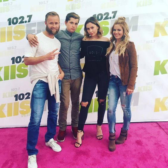 "Candace Cameron Bure on Instagram: ""Family fun night at Wango Tango!! #wangotango #Kiisfm #102.7 @natashabure"" #candacecameronburehairstyles"