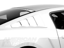 2010 2014 Mustang Quarter Window Louvers Scoops Americanmuscle Com Free Shipping Mustang Parts Mustang 2014 Mustang