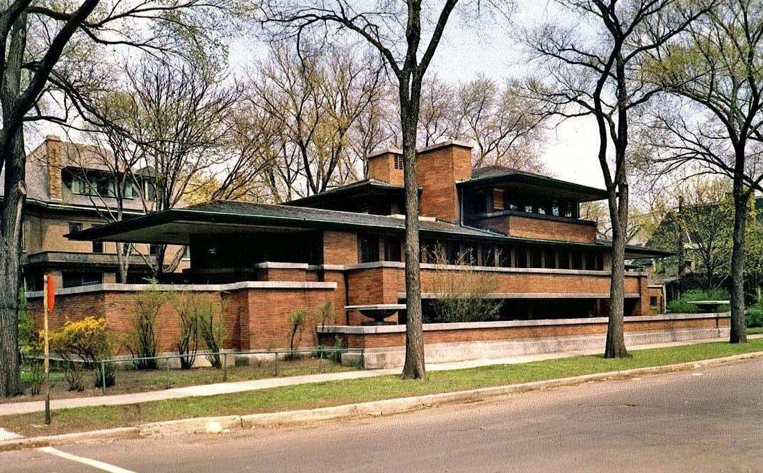 Frank Lloyd Wright S Robie House Prairie Style Mid Century Home Robie House Frank Lloyd Wright Robie House Frank Lloyd Wright Robie