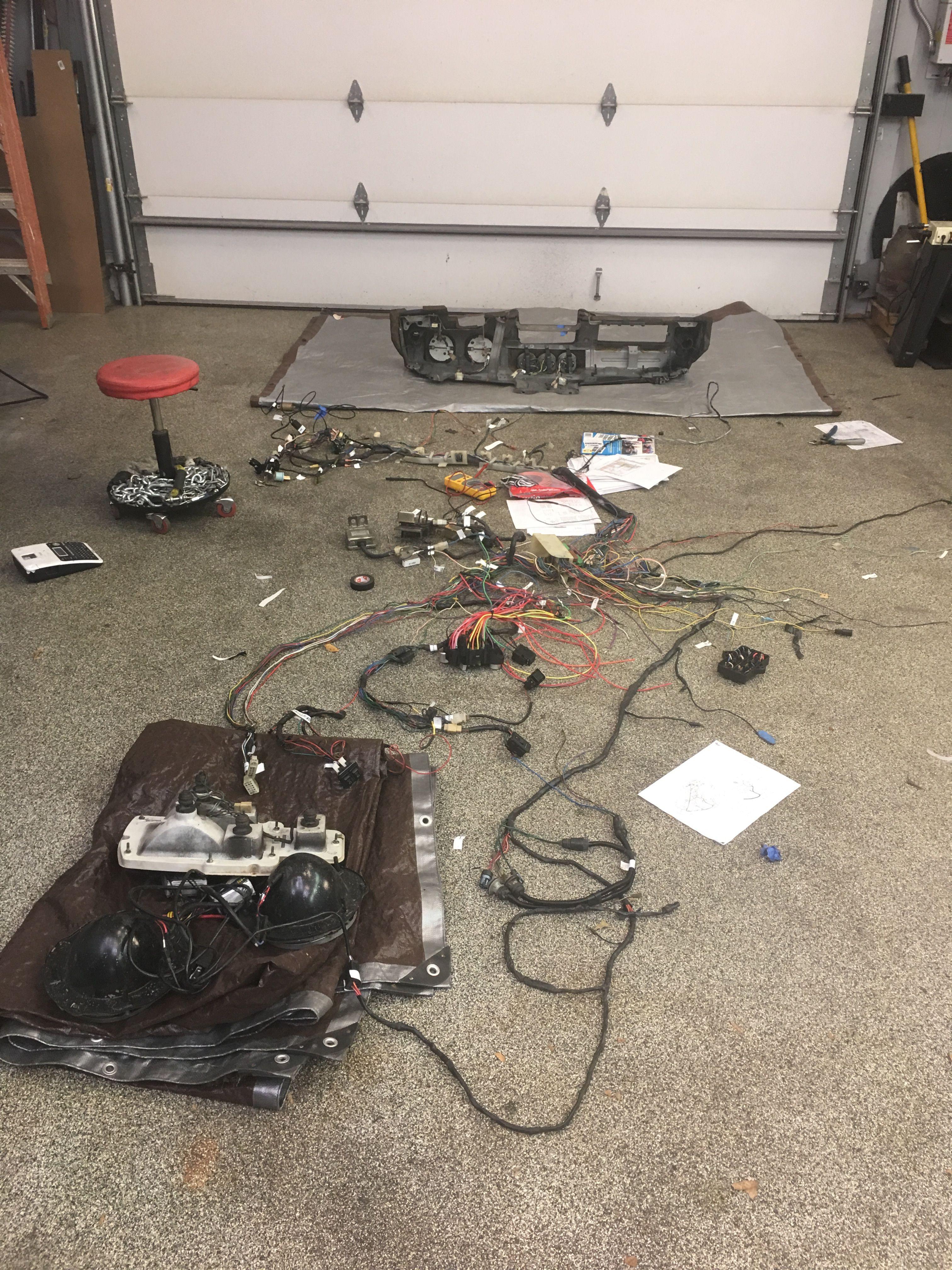 re wiring datsun z with new ez wiring harness [ 3024 x 4032 Pixel ]