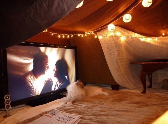 Attic Theatre Build A Fort Blanket Fort My Dream Home