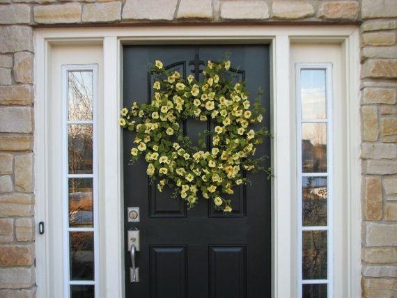 Wreaths Wreaths XL Spring Wreath WreathYellow by twoinspireyou