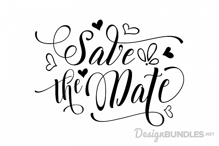 Download Freebie Roundup #10 | Save the date fonts, Cricut wedding ...