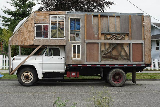 DIY Motorhome by Sizemore Bicycle (Taylor), via Flickr