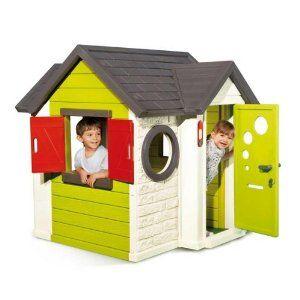 smoby 310140 spielhaus mein haus best preis spielh user toys and gaming pinterest haus. Black Bedroom Furniture Sets. Home Design Ideas