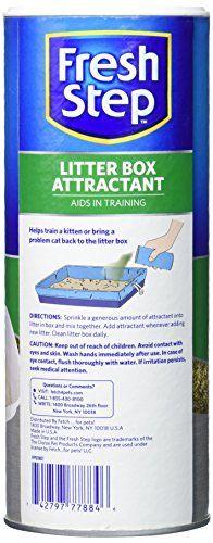 Fresh Step Litter Box Attractant Cat Litter Litter Box Cat Hacks