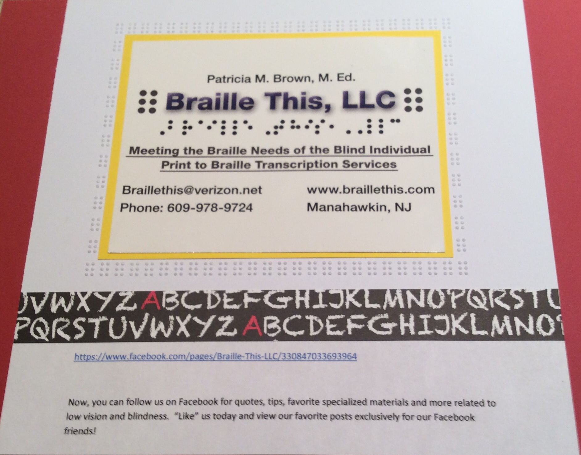 Pin By Braille This Braille Transcription Service On