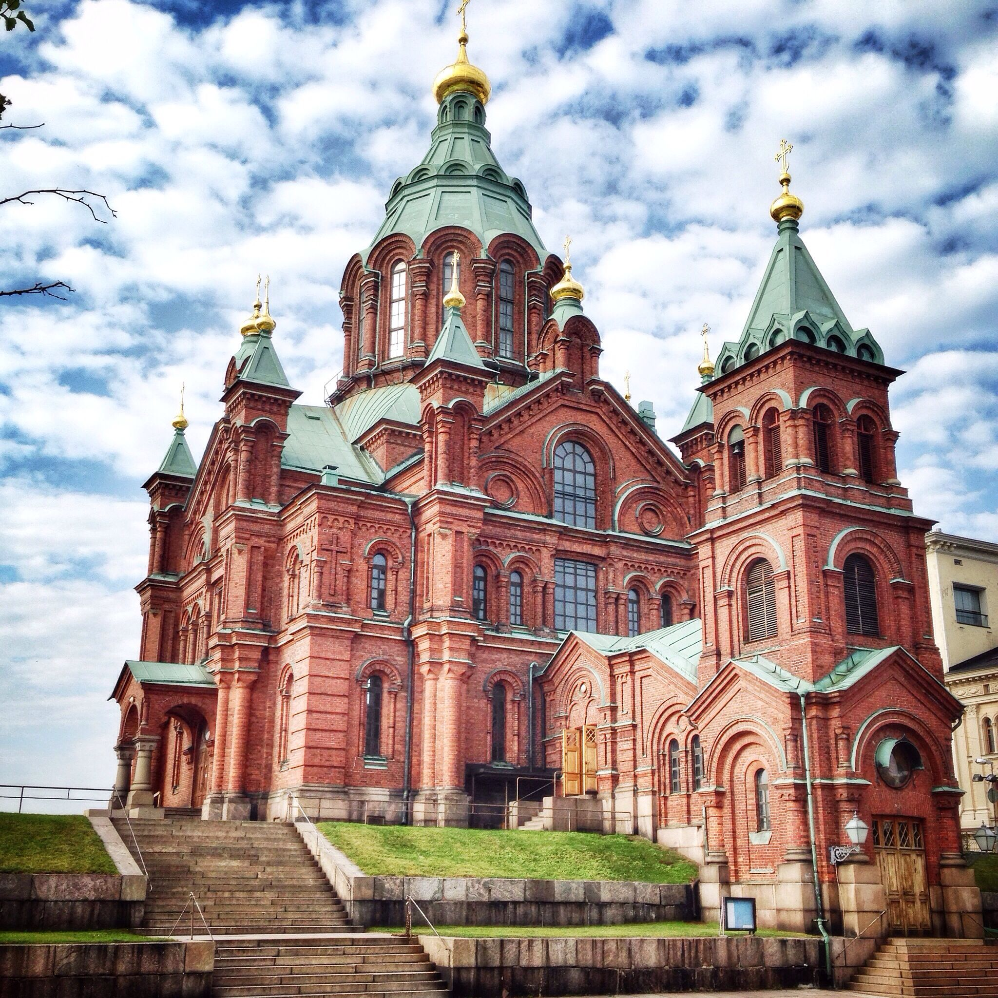 Uspenski Orthodox Cathedral Completed In 1868