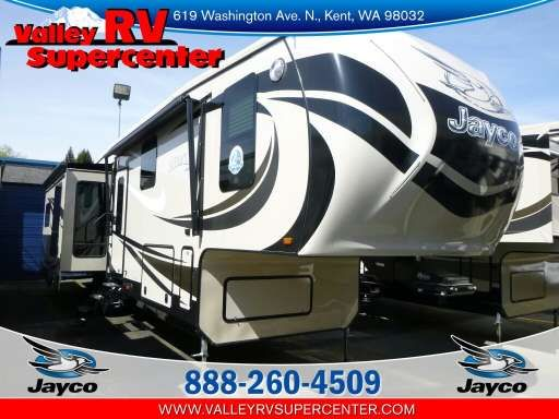 Check out this 2015 Jayco Pinnacle 36 RSQS listing in Kent, WA 98032 on RVtrader.com. It is a Fifth Wheel and is for sale at $13649.
