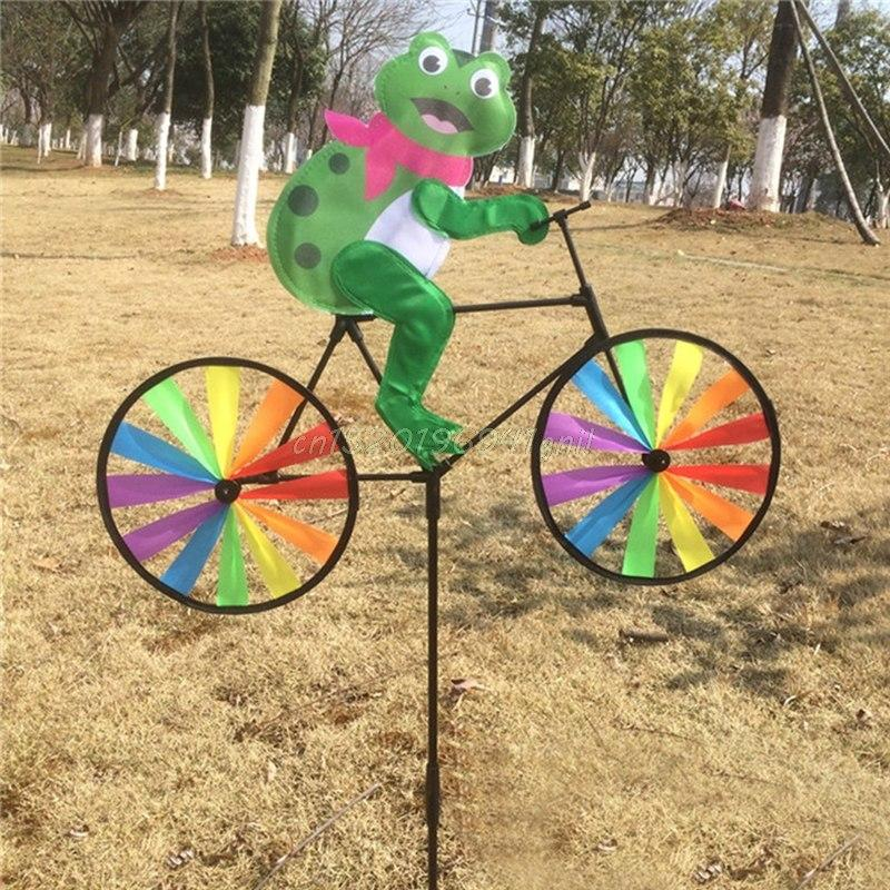 Animal On Bike Wind Spinner