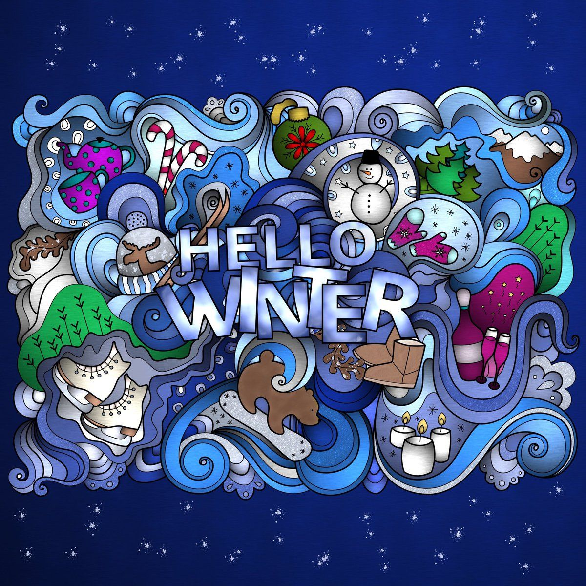 Whats Your Favorite Thing About Winter Were Loving The Use Of