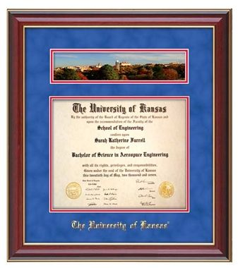 University Of Kansas Diploma Frame This Cherry Lacquer Diploma Frame Features A Campus Fall Diploma Frame Thoughtful Graduation Gifts Unique Graduation Gifts