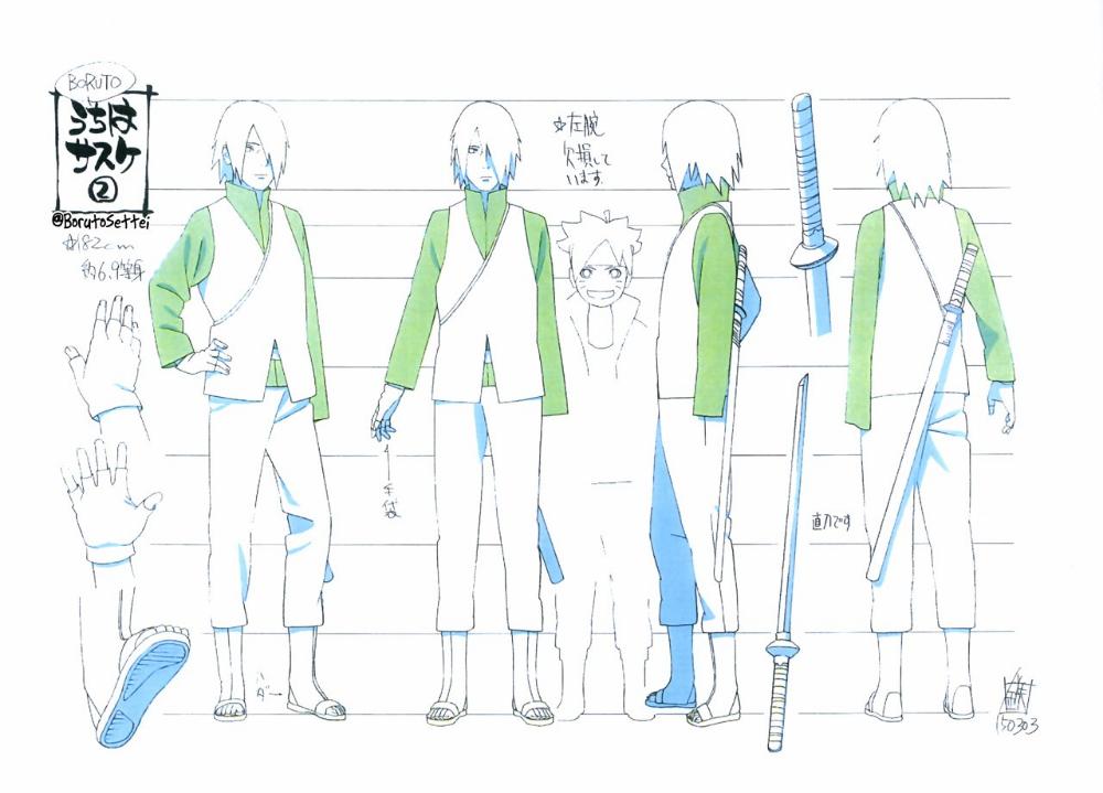 BORUTO設定 on Twitter in 2020 Anime character design