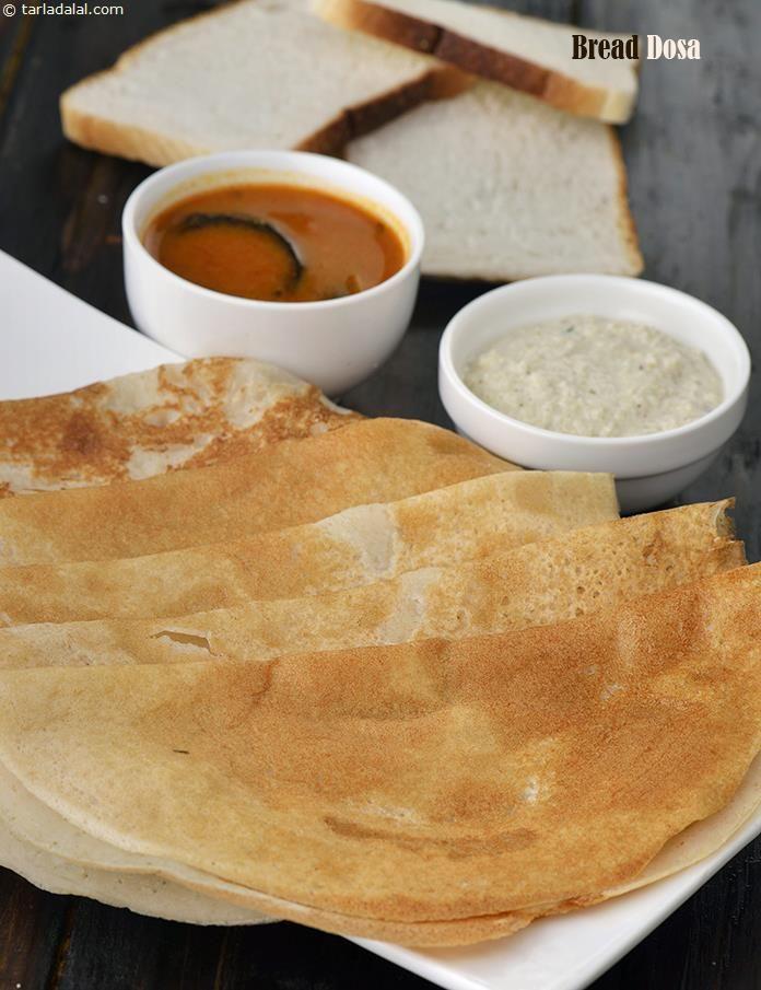 Bread Dosa, Instant Bread Dosa | Recipe | Dosa recipe ...