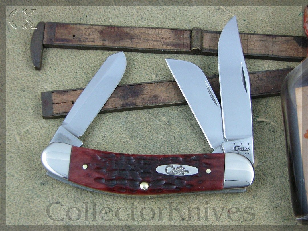 CollectorKnives - Case XX Chestnut Bone CV Sowbelly Stockman, $48.95 (http://www.collectorknives.net/case-xx-chestnut-bone-cv-sowbelly-stockman/)