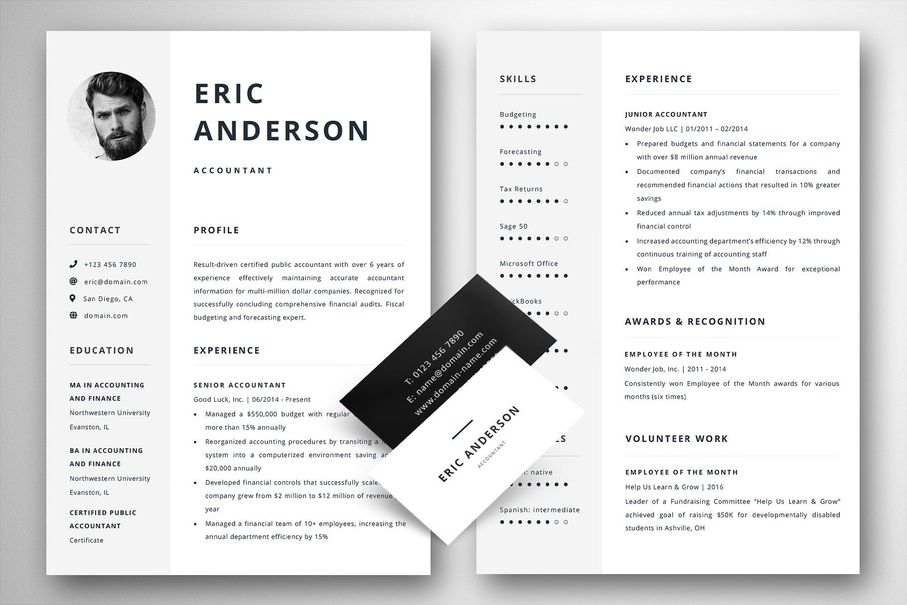 Accountant Resume / CV Cover Le... valuableaddultimate
