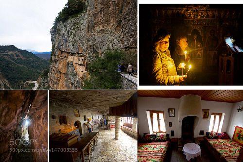 Kepinas Monastery Tzumerka by dimtsak  colour gorge Travel Greece Monastery Syrrako wild scenery Tzumerka Kalarytes master build dimtsak