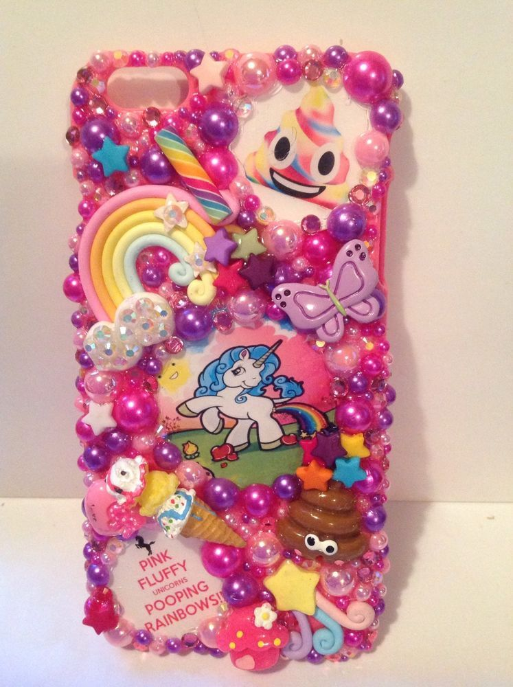 cheap for discount bff40 07695 Unicorn Hello Kitty Apple iPhone 6 Plus Phone Case | eBay | Bling ...