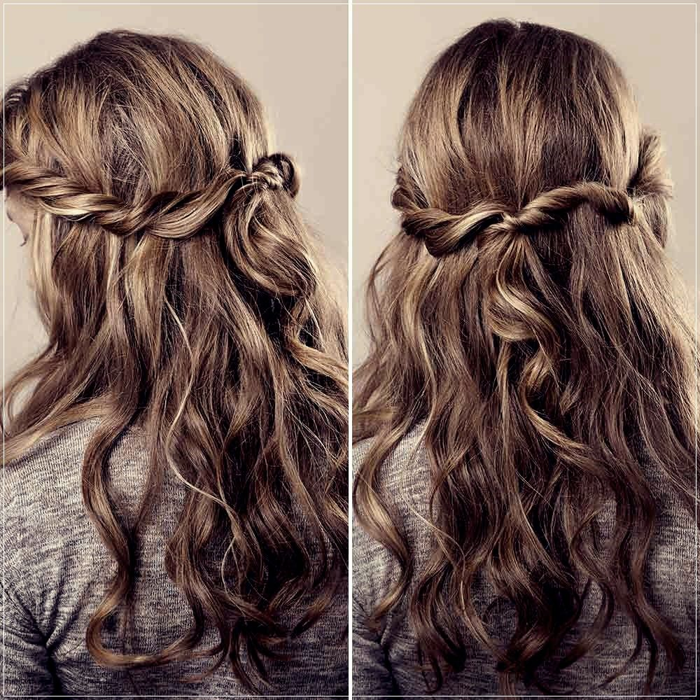 Curly Hairstyles Simple And Beautiful Ideas Curly Hair Styles Hair Styles Long Curly Hair