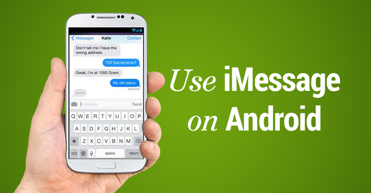 How to Use Apple's iMessage on Android Phone www.cryptus