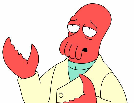 Need someone to look up to?  Why not Zoidberg?