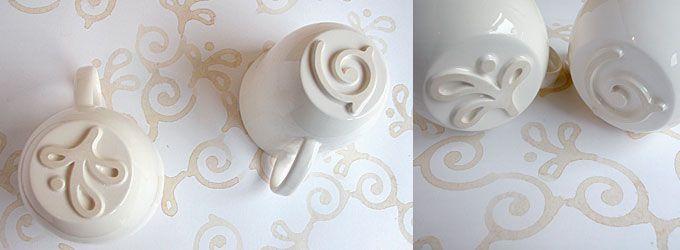 Brilliant!!! Stamp Cups by Valeria Miglioli & Barnaby Barford - thorsten van elten