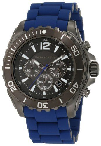 Michael Kors Men's MK8233 Drake Blue Watch Michael Kors. $214.99. Stainless Steel Case. 10 ATM, Water-resistant up to 100 meters. 2 Year Warranty. Durable mineral crystal protects watch from scratches. Save 27%!