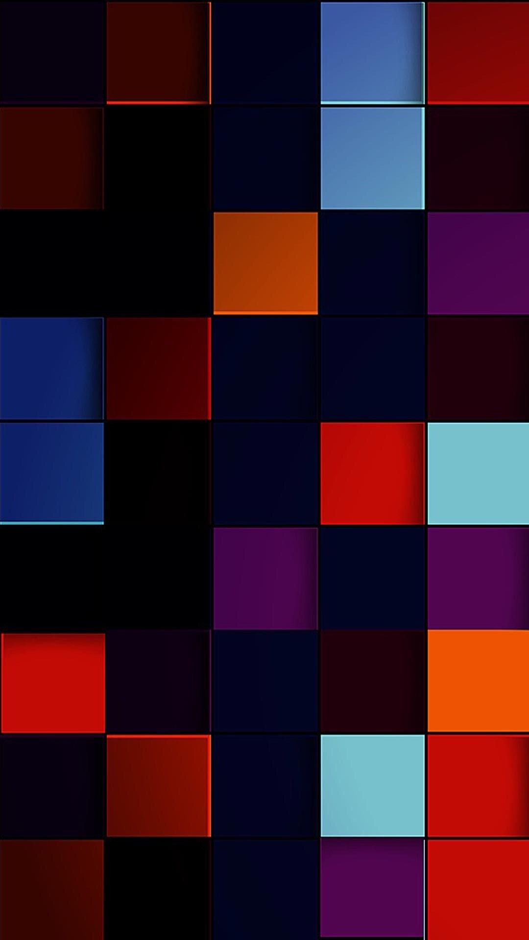 Colorful Geometric Shapes Wallpaper | Abstract iphone ...