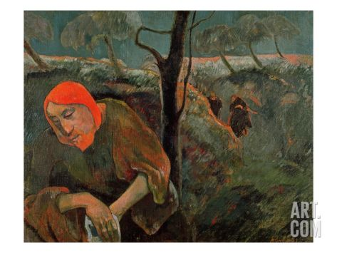 The Agony In The Garden 1889 Giclee Print By Paul Gauguin At Art