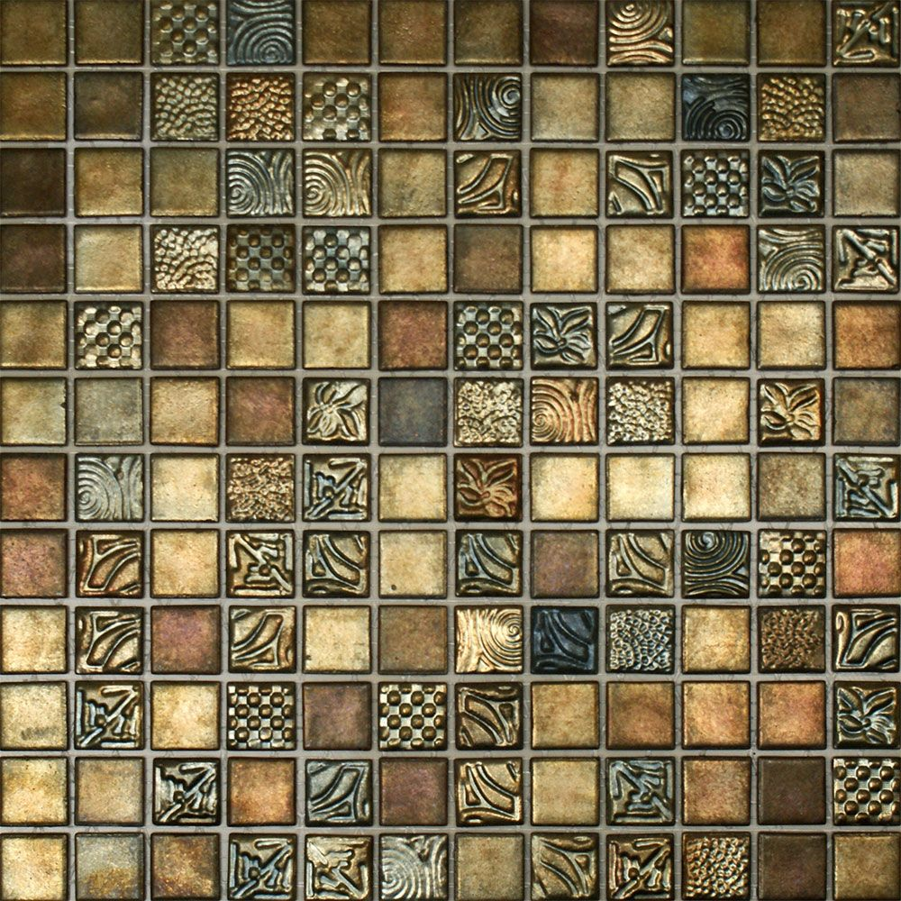 Nice Glass Mosaic Tiles Picture U2013 Contemporary Tile Design Magazine
