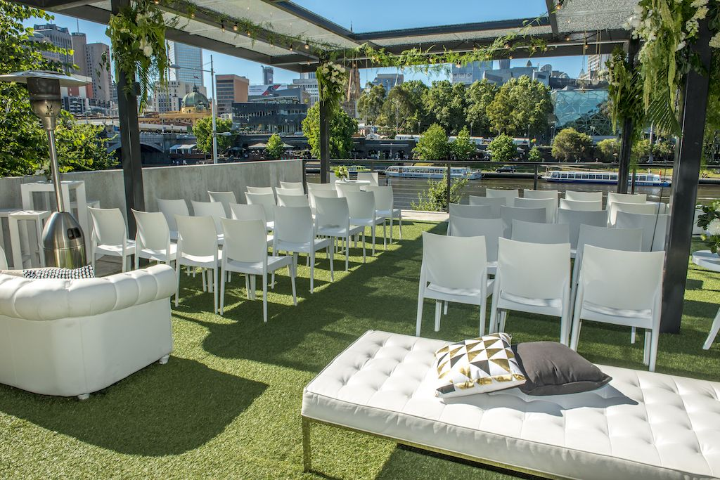 Cnk catering wedding venues melbourne rooftop wedding
