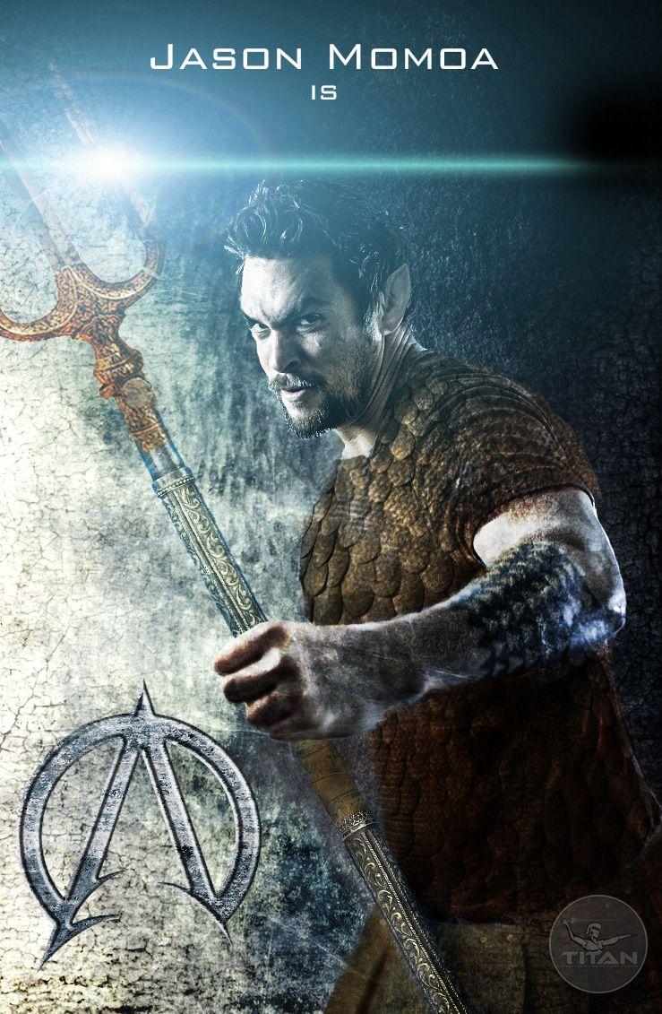 Jason Momoa as Aquaman | Aquaman | Pinterest | Aquaman, Jason momoa ...