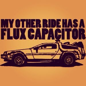 My other ride has a Flux Capacitor.