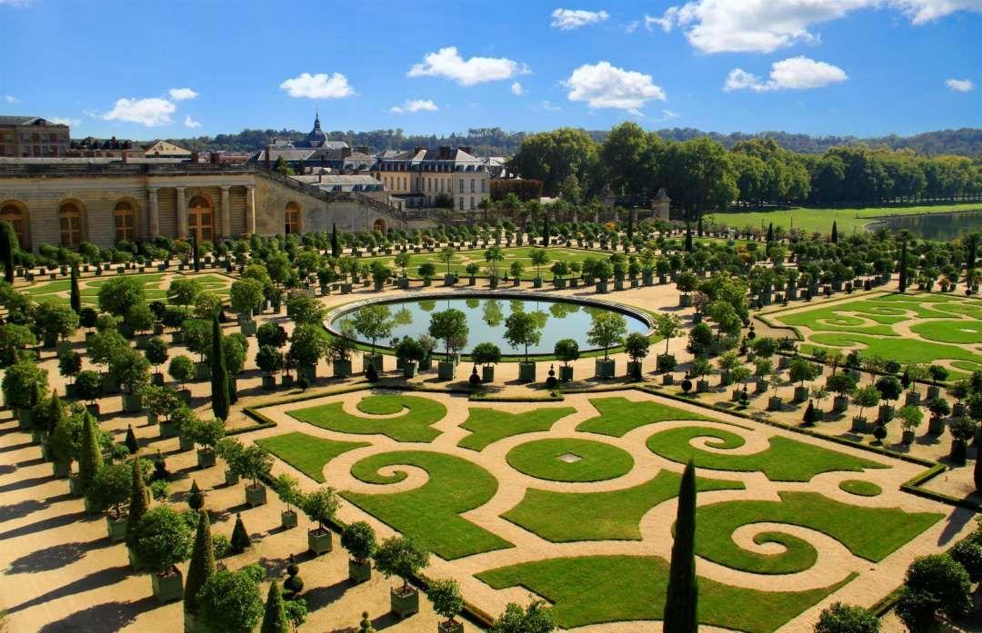 The Gardens, Palace of Versailles, Paris, France Lyubov