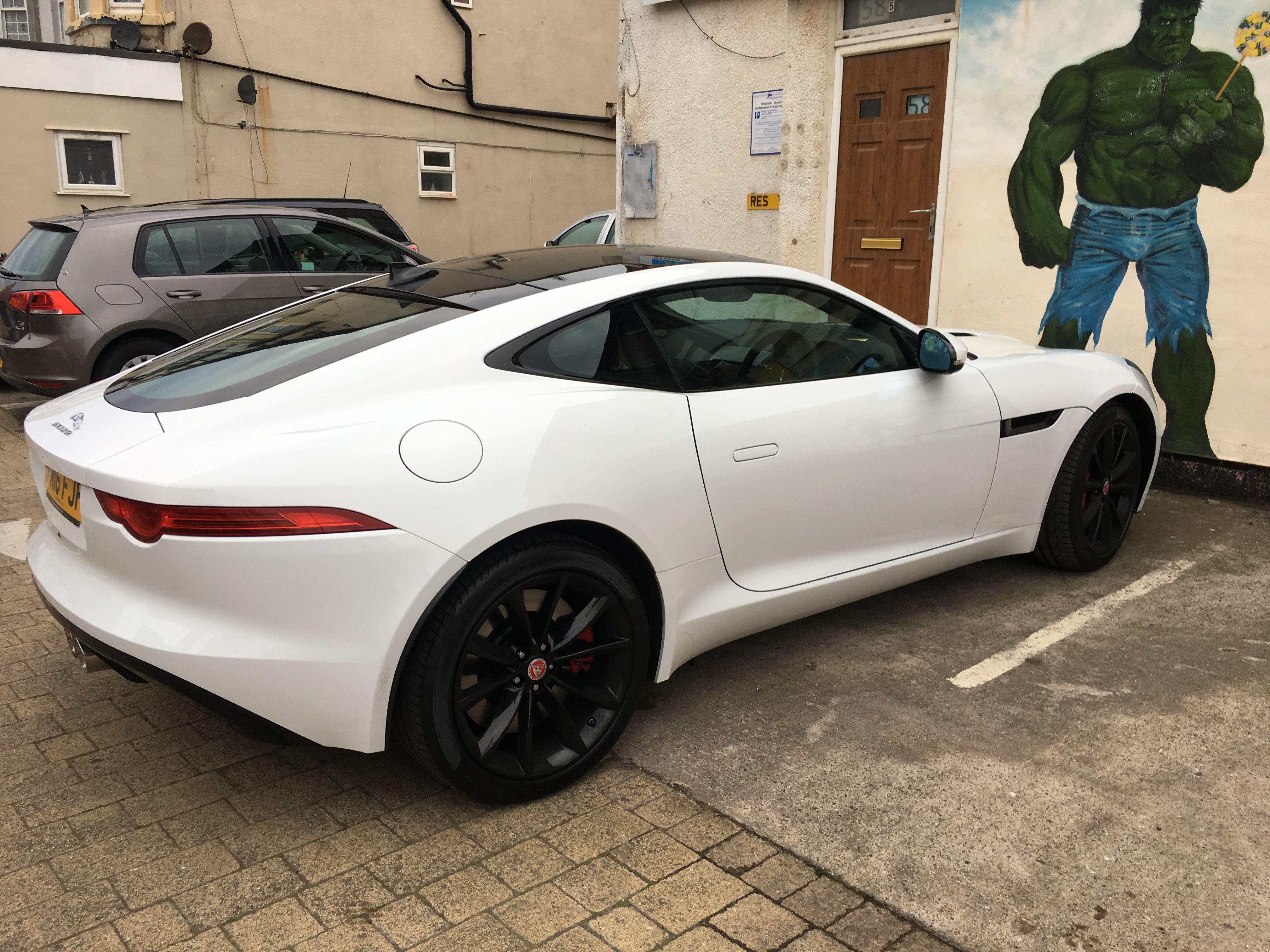 Car colour white - Jaguar Car F Type White Colour