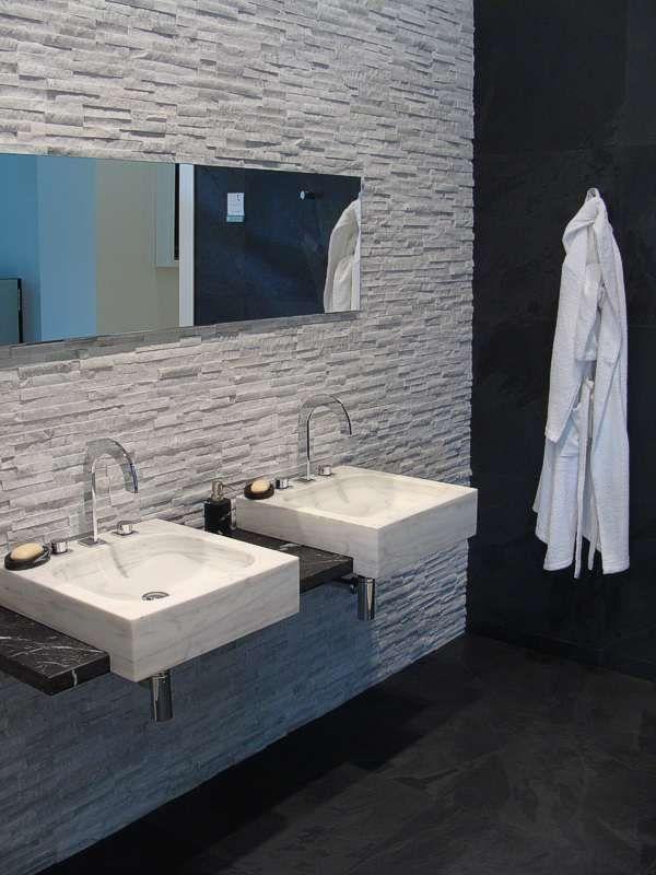 - Badezimmer naturstein ...