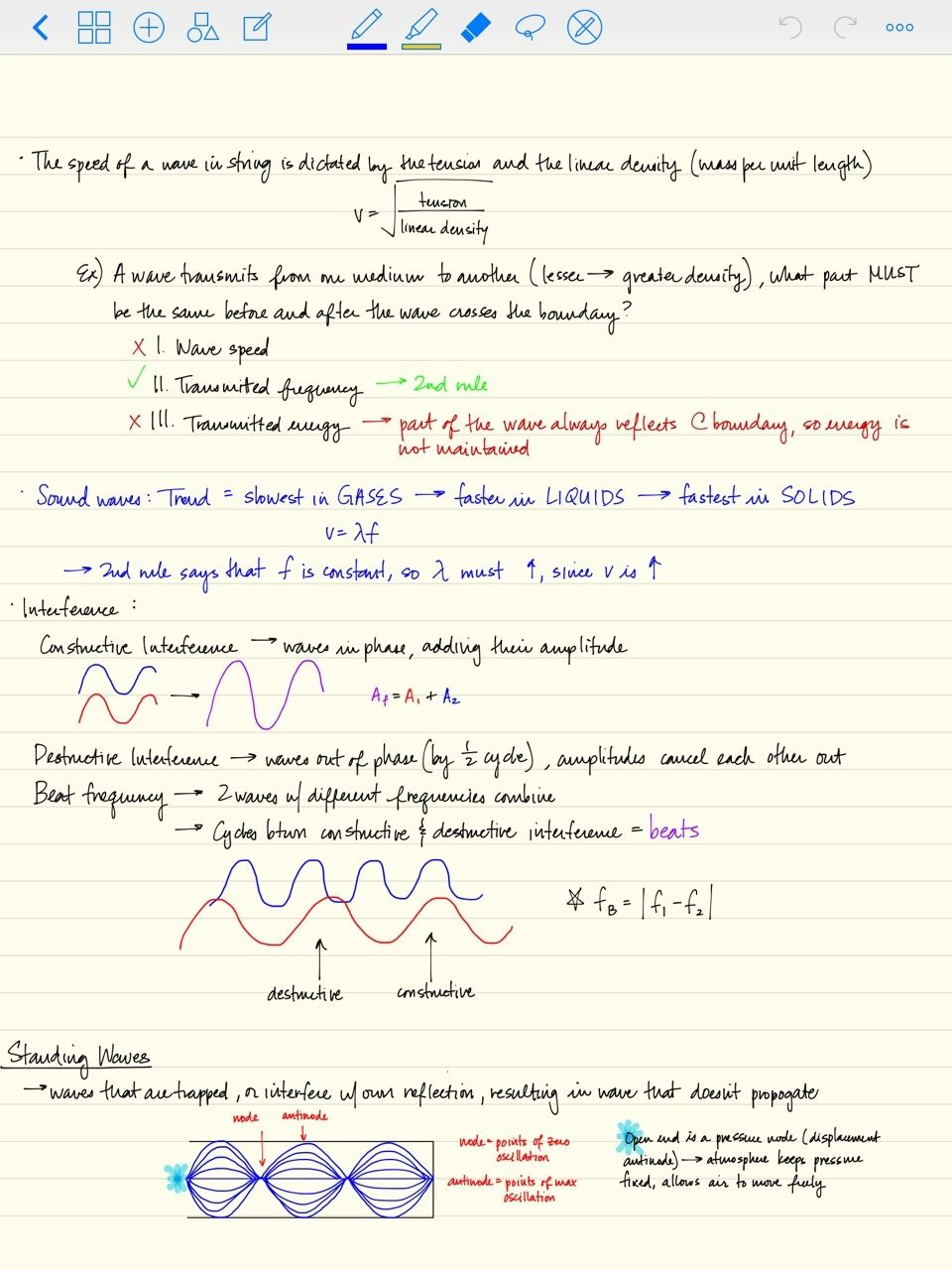 Notes Aesthetic Physics Notes Lecture 7 Mcat Prep 7 12 2015 Physics Notes Mcat Prep Physics
