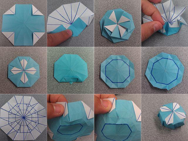 tuto origami box
