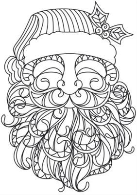 Pin by Barbe McKittrick on Coloring ~ Detailed Holidays
